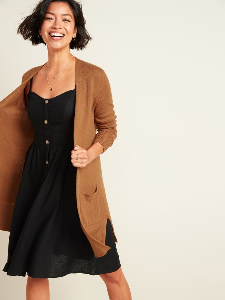 Old Navy Long-Line Open-Front Sweater