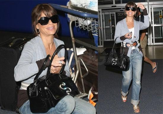 Photos of Paula Abdul at JFK