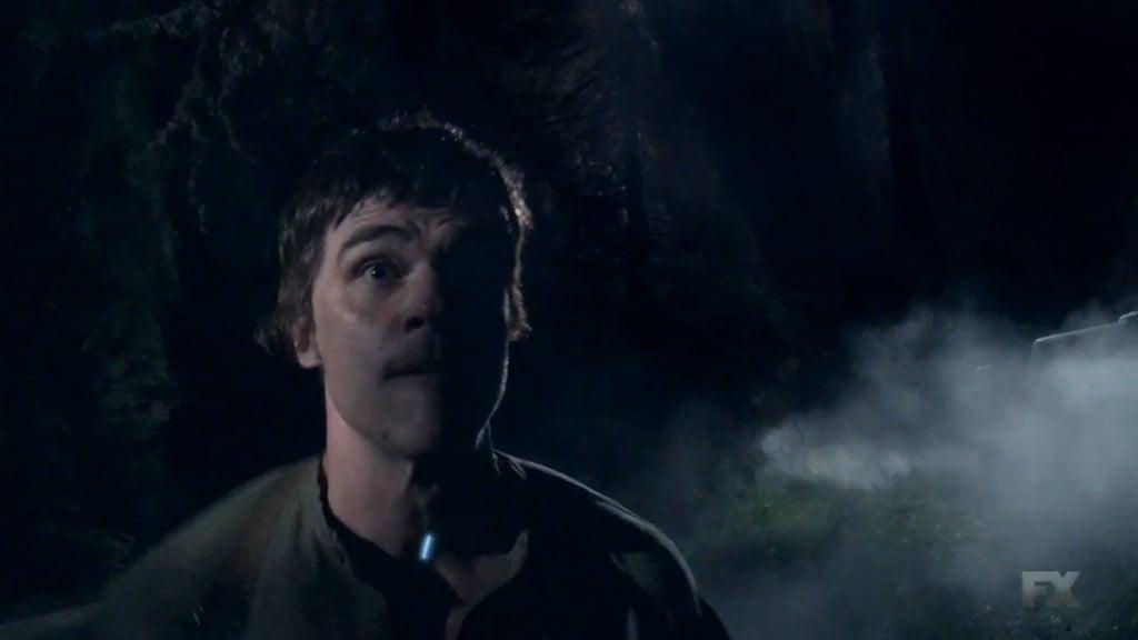 Wittrock as Cain Polk in Roanoke