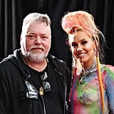 Kyle Sandilands and Imogen Anthony made a rare appearance together.