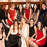 All the girls together! Spot Taylor Tomasi Hill top left.