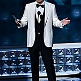 Seth MacFarlane presented the award for outstanding reality TV host.