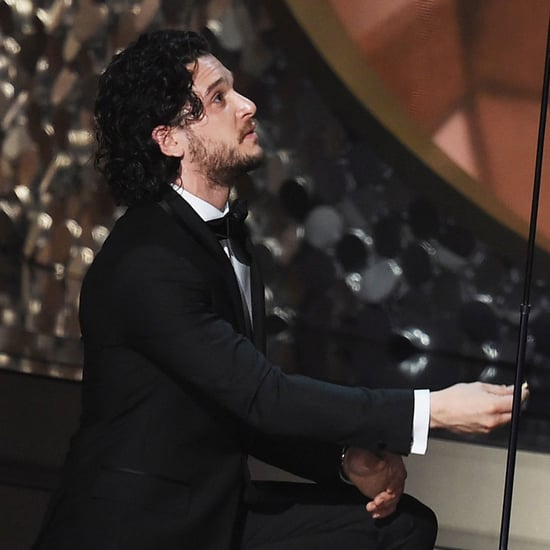 Kit Harington Proposing to Andy Samberg at the 2016 Emmys