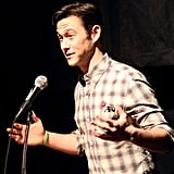 Joseph Gordon-Levitt spoke at the premiere of HitRecord on TV, his crowd-sourced show, on Friday.