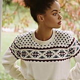 Urban Renewal Remade Fair Isle Cropped Sweater