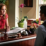 Will and Emma get some couples' time in her office.