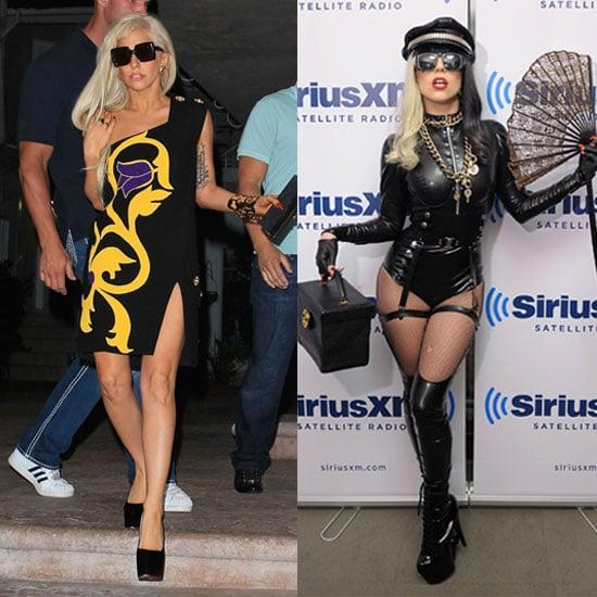 Lady Gaga Wears a Casual Look 2011-08-12 12:07:29
