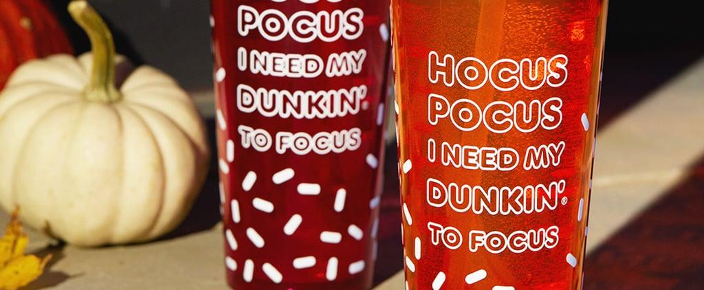 Dunkin' Hocus Pocus Halloween Cup