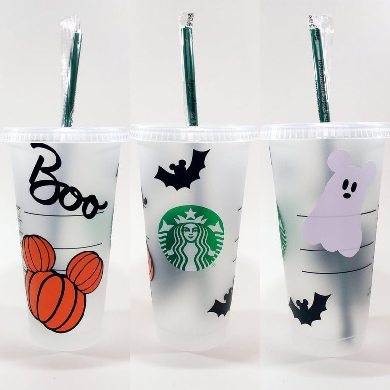 Halloween with Personalized Name Cup