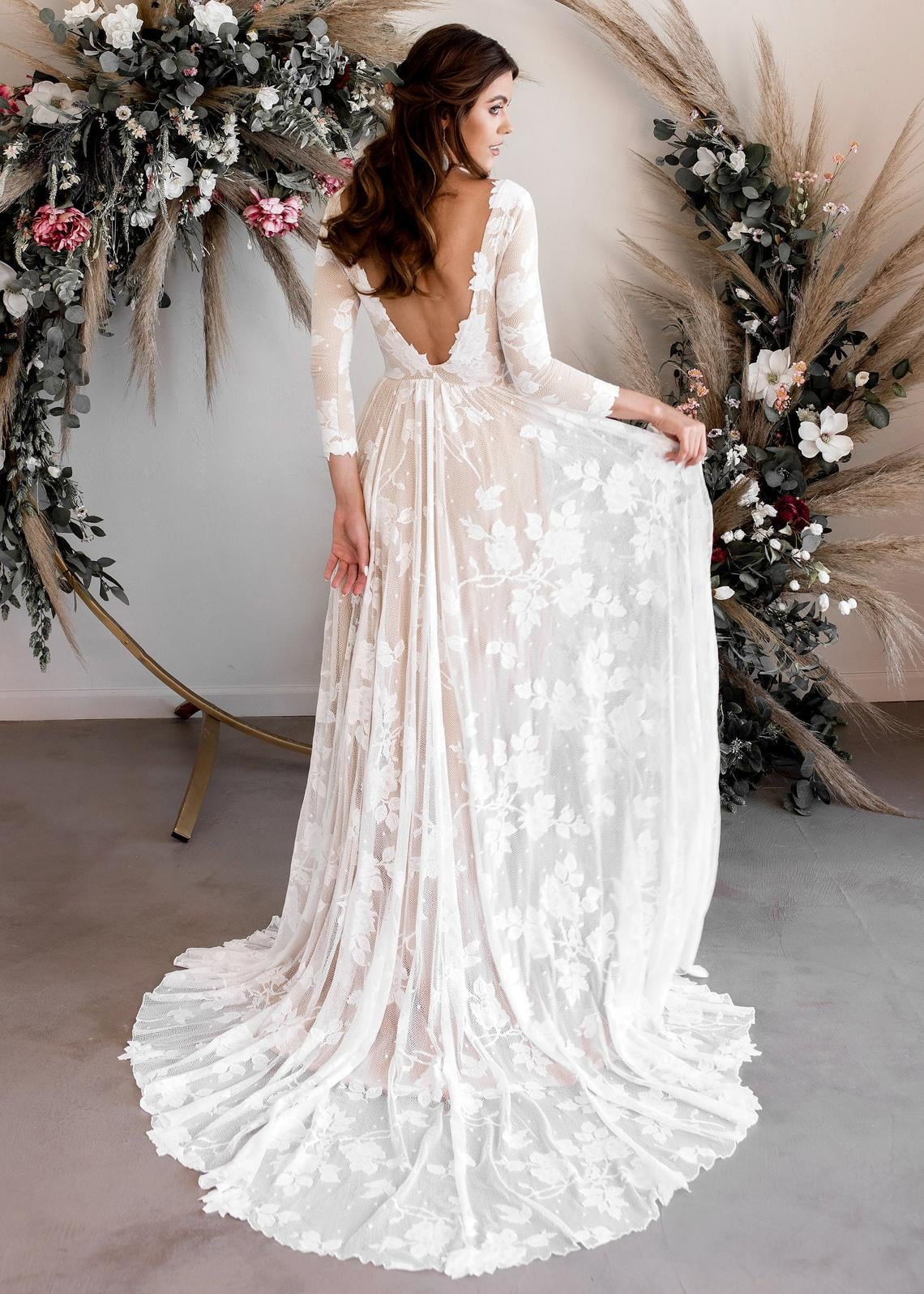 Long Sleeve Wedding Dresses 2020,Beautiful Wedding Dresses 2020,