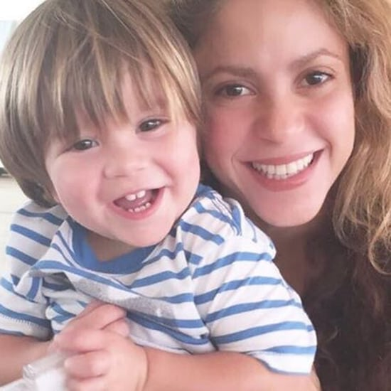 "Shakira's Son, Sasha, Dancing to ""Chantaje"" 