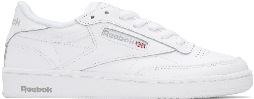 Victoria Wore White Reebok Classics to Announce the News