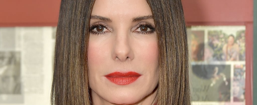 Sandra Bullock Red Makeup 2018