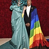 Pictured:  Frances McDormand and Lena Waithe