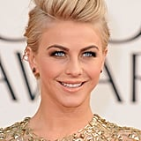 Julianne Hough hit the 2013 Golden Globes red carpet.