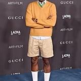 At the 2019 LACMA Art + Film Gala, Tyler proved that you can totally get away with wearing a bucket hat and shorts on the red carpet.