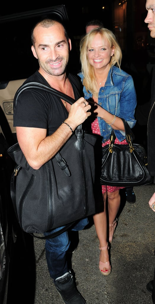 Pictures of Louie Spence and Emma Bunton Out in London