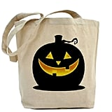 Glowing Pumpkin Treat Bag