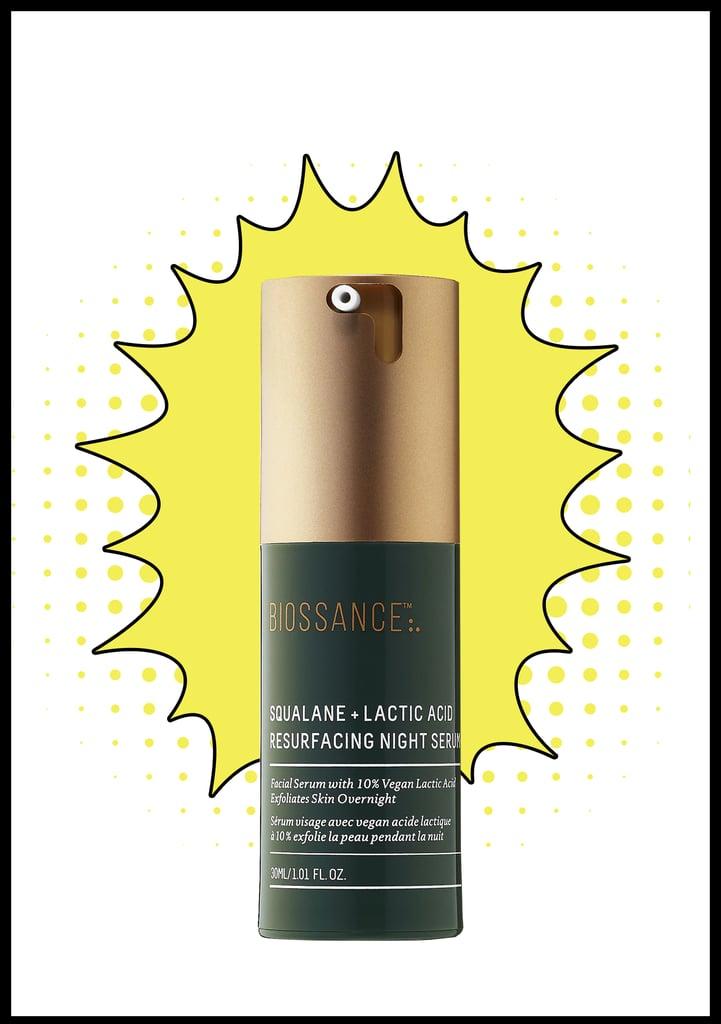 Biossance Squalane + 10% Lactic Acid Resurfacing Night Serum