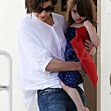 Katie and Suri in LA