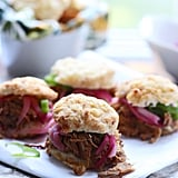 Tex-Mex Pulled Pork With Cheddar Biscuits