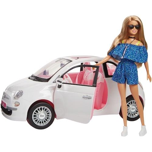 Mattel Barbie Fiat Set