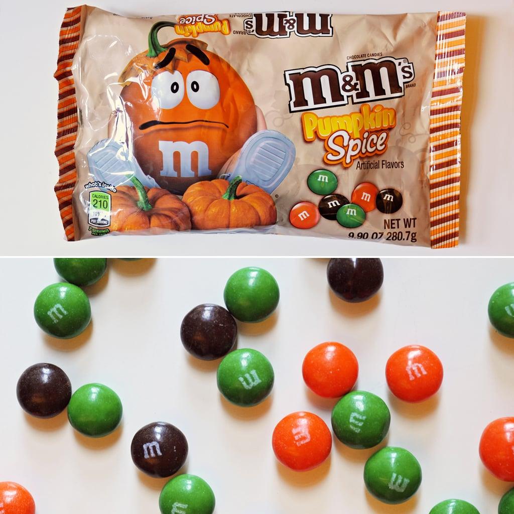 Pumpkin Spice M&M's
