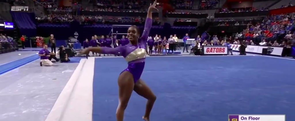 Watch LSU Gymnast Kiya Johnson's 2020 Floor Routine