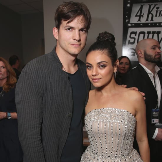 Mila Kunis and Ashton Kutcher at 2016Billboard Music Awards