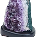 Amethyst Cluster Table Lamp