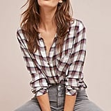Cloth & Stone Shoshone Plaid Button Down