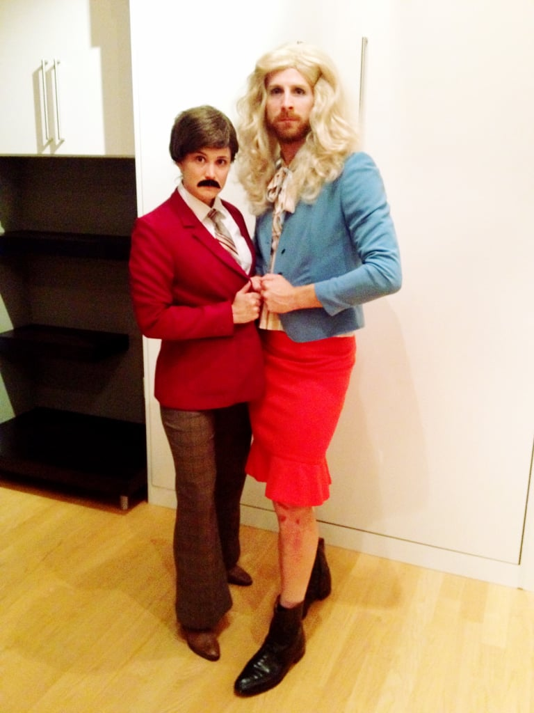 ron and veronica, anchorman | funny costume ideas for couples