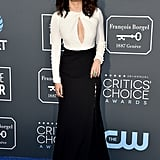 Sandra Oh at the 2019 Critics' Choice Awards