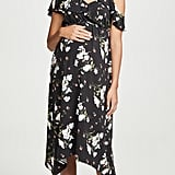 Ingrid & Isabel Asymmetric Ruffle Dress