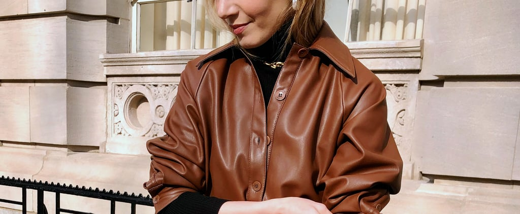 3 Ways to Wear the Leather Trend For Spring