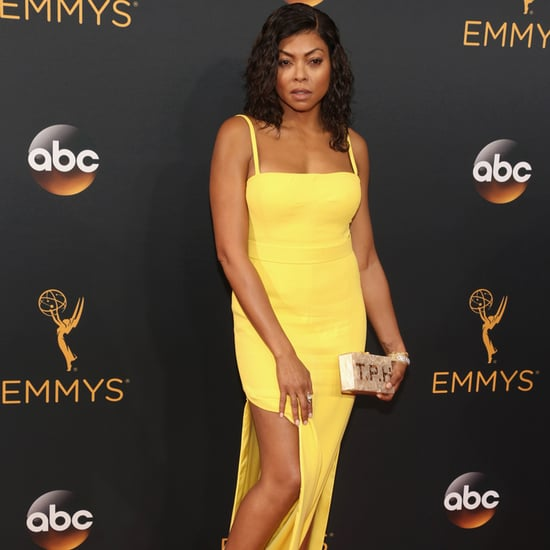 Taraji P. Henson's Edie Parker Clutch at the Emmys 2016