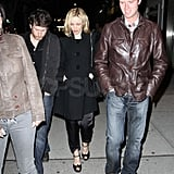 Rachel McAdams Parties Past Midnight With a Group of Friends