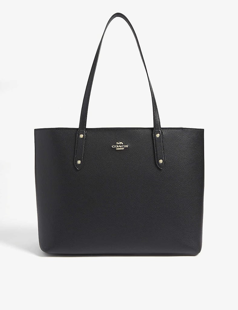 Coach Pebbled Leather Tote