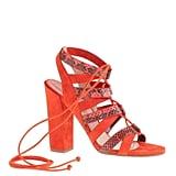 J.Crew Lace-Up High-Heel Sandals ($598)