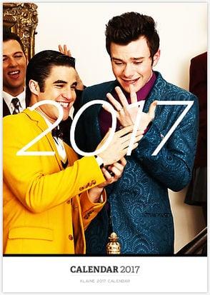 Klaine 2017 Calendar ($24)