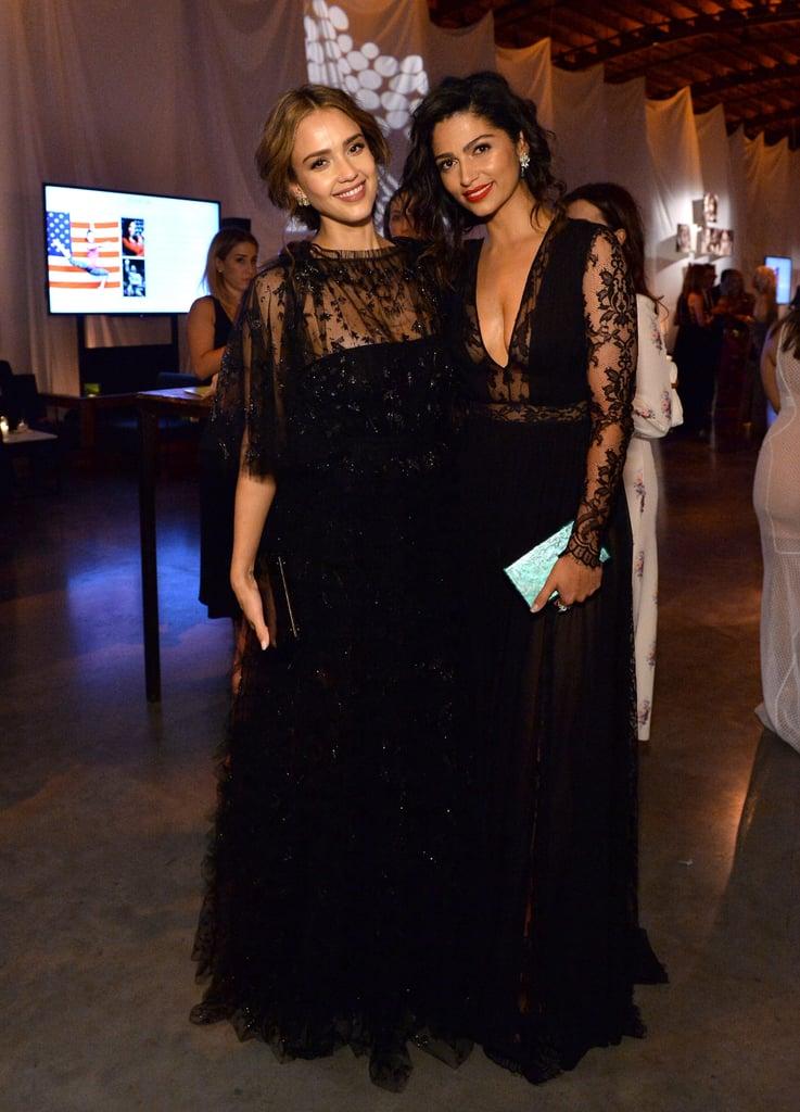 Pictured: Jessica Alba and Camila Alves