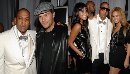 Jay-Z, Beyonce, Tom Brady Party at 40/40 Club