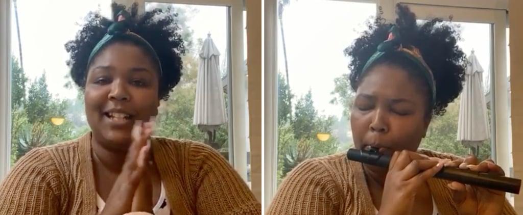 Watch Lizzo's Instagram Meditation Video to Relieve Stress