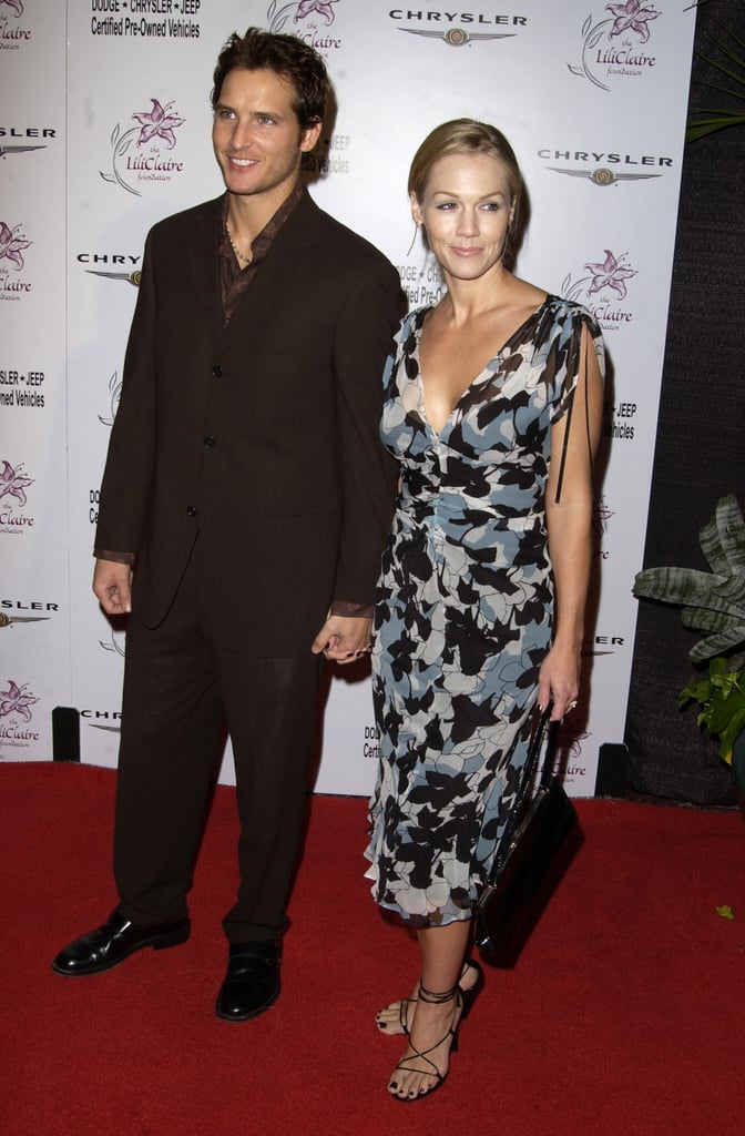 Peter Facinelli and Jennie Garth went to the Lili Claire Foundation's 6th Annual Benefit in Oct. 2003.