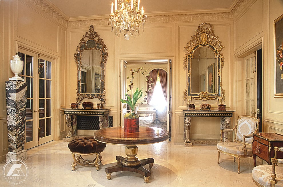 Beauxarts Decor Abounds In The Overthetop Condo Which Comes With Magnificent Beaux Arts Interior Design Decor