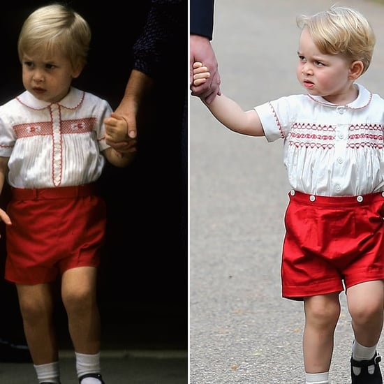 Prince George Looks Like Prince William as a Baby