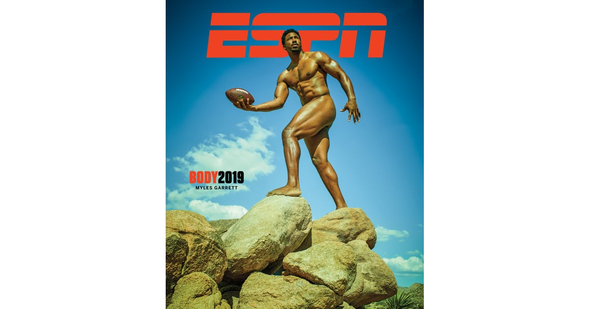 Myles Garrett Espn Body Issue 2019 Photos Of Athletes