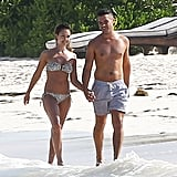 Jessica Alba and Cash Warren held hands in July 2014 when they took a trip to Mexico.