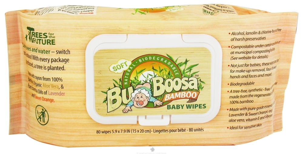 Bum Boosa Bamboo Baby Wipes (80 count for $17)