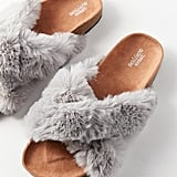 Urban Outfitters Faux Fur Slide